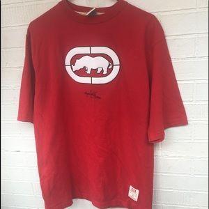 Ecko 🦏 Rhino logo red streetwear tshirt sz M